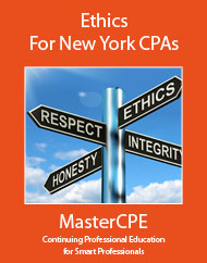 New-York CPA CPE-Courses Ethics for Accountants: New York